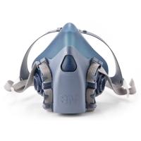 Halvmaske 3M 7503 str l - åndedrætsmaske