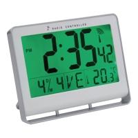 UR ALBA LCD DIGITAL SØLVFARVET 15X20CM