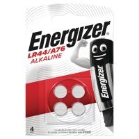 ENERGIZER LR44/A76 KNAPCELLE BATTERI PAKKE A 4 STK
