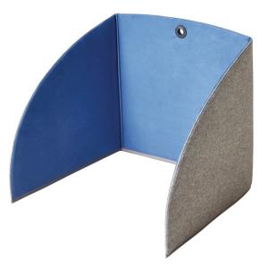 STANDUP TABLE SCREEN 80X55X5CM BLUE/GREY