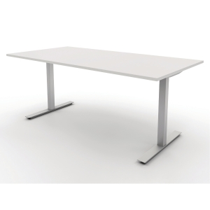 JIVE CANTEEN TABLE D80XW120 WHITE
