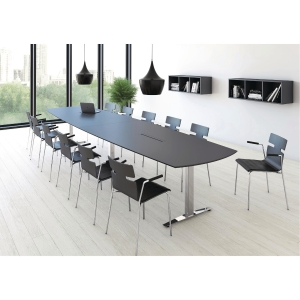JIVE CONFERENCE TABLE 110/90X320 ANT/ALU