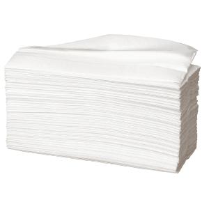 Håndklædeark Care-Ness Excellent, 2-lags, hvid, karton a 25 x 160 ark