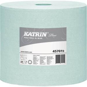 Industrirulle Katrin Plus Poly XL blå