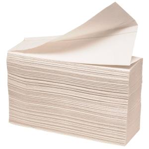 Håndklædeark Abena 2-lags hvid karton a 21 x 210 ark