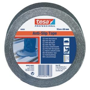 Skridsikker Tesa 60950 tape 50mmx15m sort
