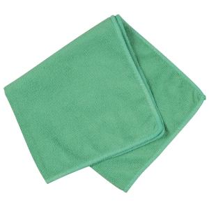 Mikrofiberklud, grøn, 40 x 40 cm, pakke a 20 stk.