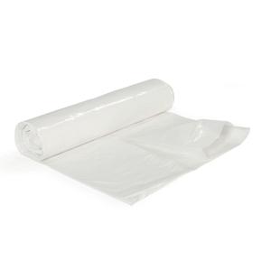 Affaldssæk 40my 75x115 125l hvid rulle a 25 stk