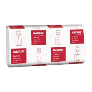 Håndklædeark Katrin 345256 Classic M2 One Stop karton a 21 x 144 ark