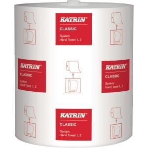 Håndklædepapir Katrin 460232 Classic System Towel karton a 6 ruller