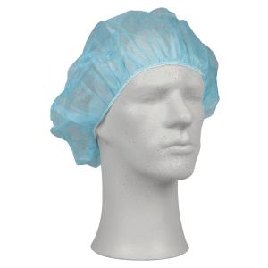Operationshue Abena onesize 53 cm blå pakke a 100 stk