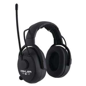 Høreværn Skydda Zekler 412R, radio, sort, SNR 30 dB