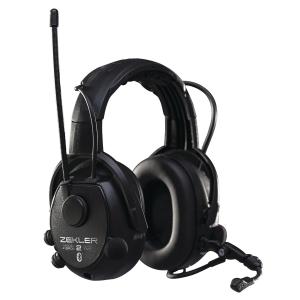 Høreværn Skydda Zekler 412RDB radio sort