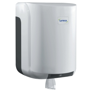 Dispenser Lyreco centerfeed hvid