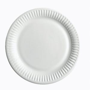 PK100  HUHTAMAKI PLATE 18CM WHITE