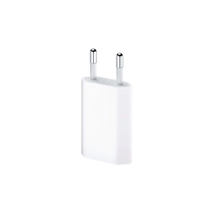 IPHONE USB CHARGER 5V/1A WHITE