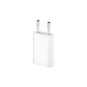 USB-oplader iPhone 5 V, 1 A, hvid