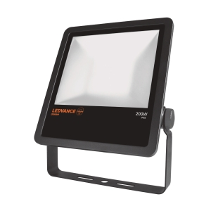 LAMPE FLOODLIGHT LED 200W/4000K IP65 SORT