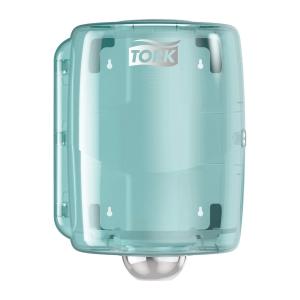 Dispenser Tork W2 Centerfeed rulle blå