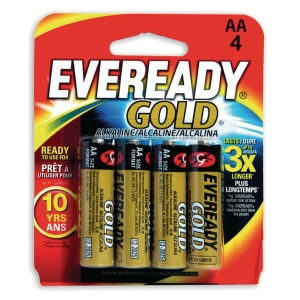 PK48 EVEREADY GOLD AA/LR6 BATTERI