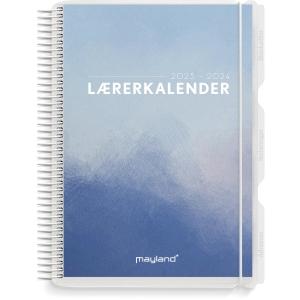 Lærerkalender Mayland 8130 10 A5 med 2 illustrationer