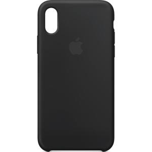 Cover Apple iPhone X/XS silikone sort