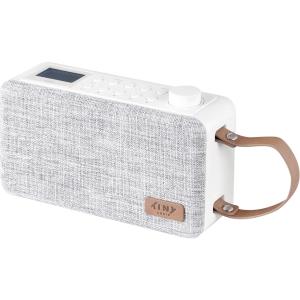 Radio Tiny Audio DAB+/DAB/FM hvid