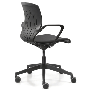 DAUPHIN SYNC VISITOR CHAIR BLACK