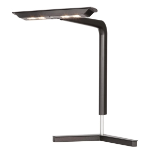 Bordlampe Unilux Ergolight LED, sort