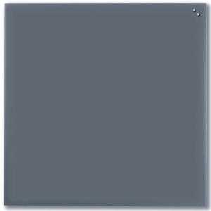 Glastavle NAGA, 100 x 100cm,grå