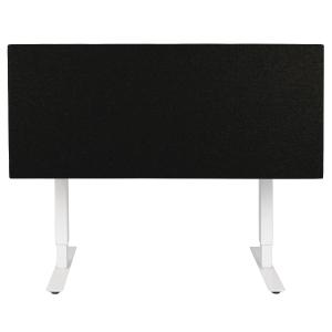 Bordskærmvæg Soneo 30 160 cm sort