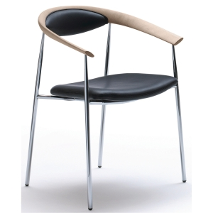 GALLA CONFERENCE CHAIR BIRCH W/BLACK