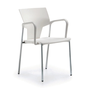 ACTIVA CANTEEN CHAIR WHITE