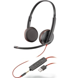 Headset Plantronics Blackwire C3225, stereo, USB-A