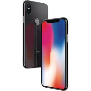 Smartphone Apple iPhone X, 64 GB, space grå