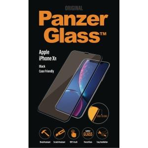Beskyttelsesglas PanzerGlass, iPhone XR, friendly, sort