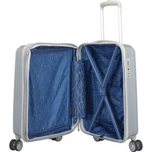 Kuffert Carlton Tube Hardcase, 55 cm, sølv