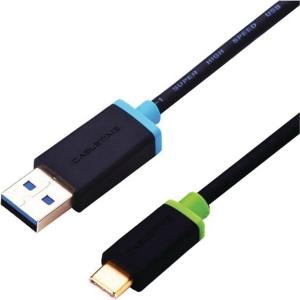 Kabel Cabletime USB-C til USB-A, sort, 3 m