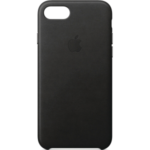 APPLE IPHONE 7/8 LEATHER CASE BLACK
