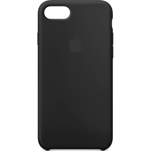 APPLE IPHONE 7/8 SILICONE CASE BLACK