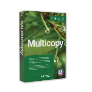 Multifunktionspapir MultiCopy Original A4 100 g pakke a 500 ark