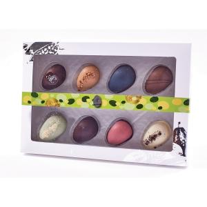 Påskeæske Aalborg Chokolade med 8 marcipanæg