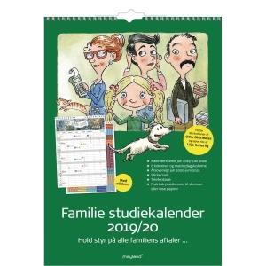 Familiekalender Mayland Studie med Stickers 6 kolonner 8079 A3