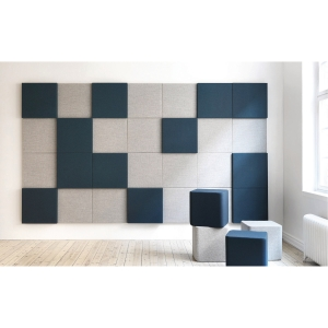SONEO WALL PANEL 500X500X50 MM M/GRY