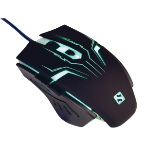Mus Sandberg 640-04 Eliminator Mouse, sort