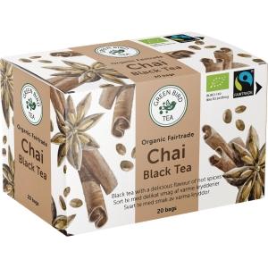 PK20 GREEN BIRD TEA CHAI BLACK