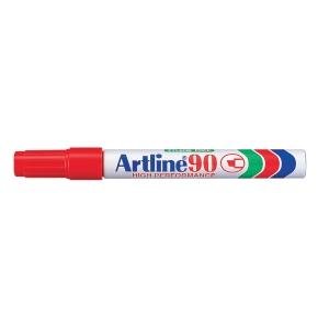 Permanent marker Artline 90, 2,5 mm, rød