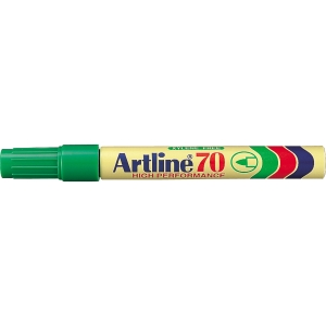 Permanent marker Artline 70, rund, grøn