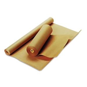 Indpakningspapir Fidele økonomirulle 60 g 70 cm x 200 m brunt