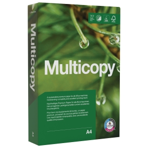 Multifunktionspapir MultiCopy Original A4 160 g pakke a 250 ark